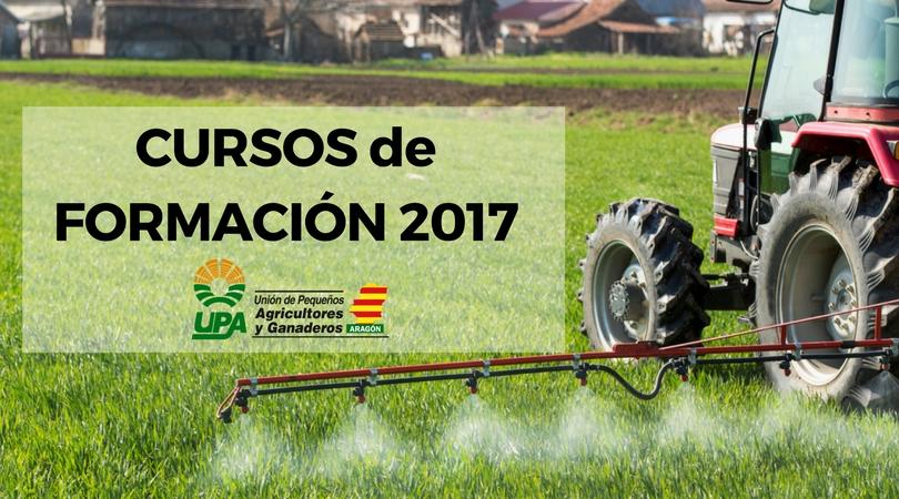 CURSOS de FORMACIÓN 2017