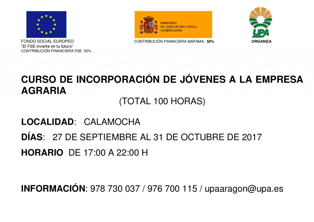 CARTEL INCORP CALAMOCHA-001