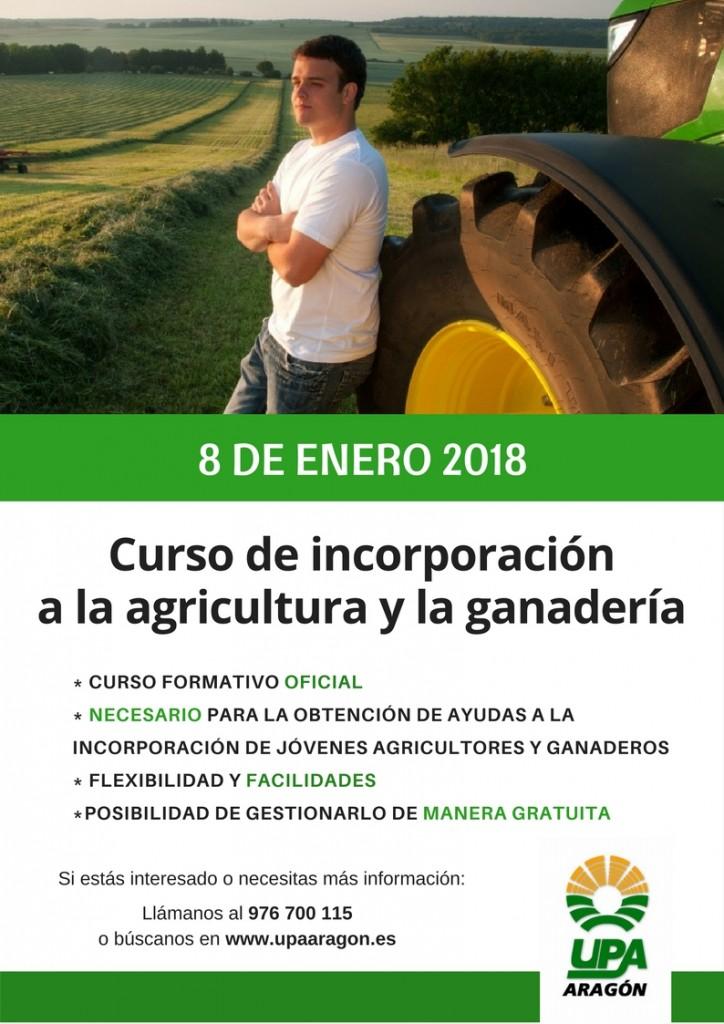 CURSO DE INCORPORACIÓN UPA ENERO 2018