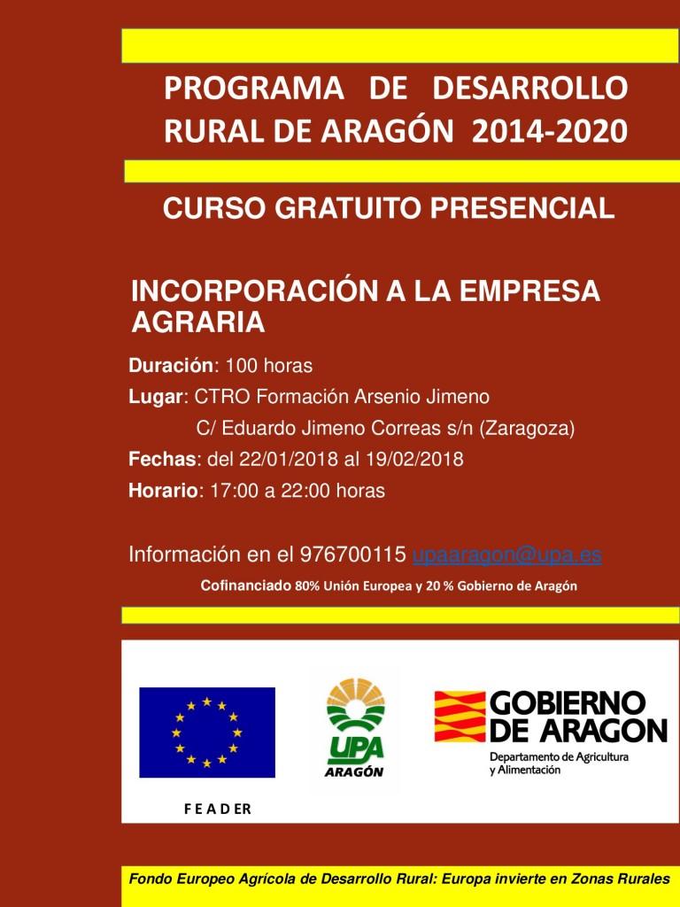 Zaragoza Incorporación 22118-001